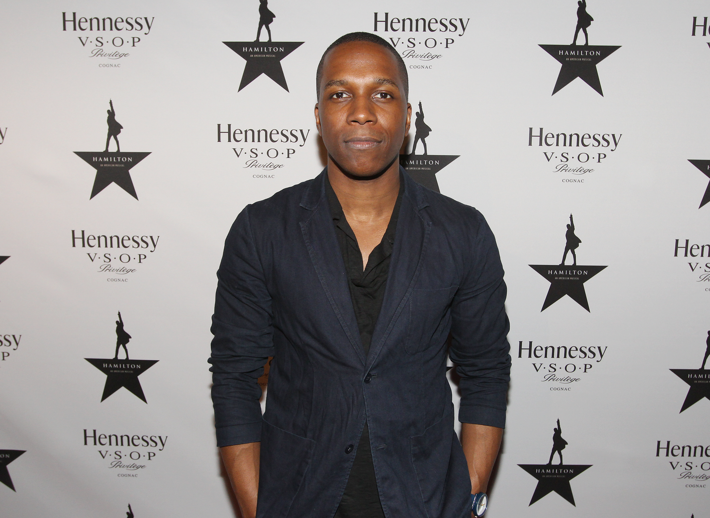 'Hamilton' star Leslie Odom Jr. gears up for big night at Tonys