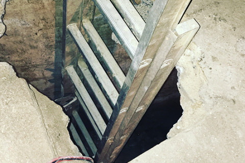 Homeowner discovers hidden room in basement suspected to be Underground Railroad route