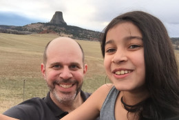 Miles and Serena Fawcett enjoying a father/daughter trip to Idaho. (Courtesy the Fawcett family)