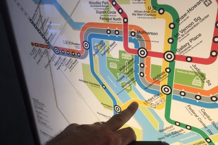 Passengers at Arlington National Cemetery surprised Blue Line ends ...