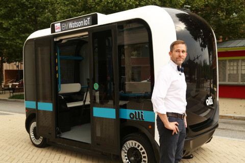 Self-driving shuttle to be tested at National Harbor