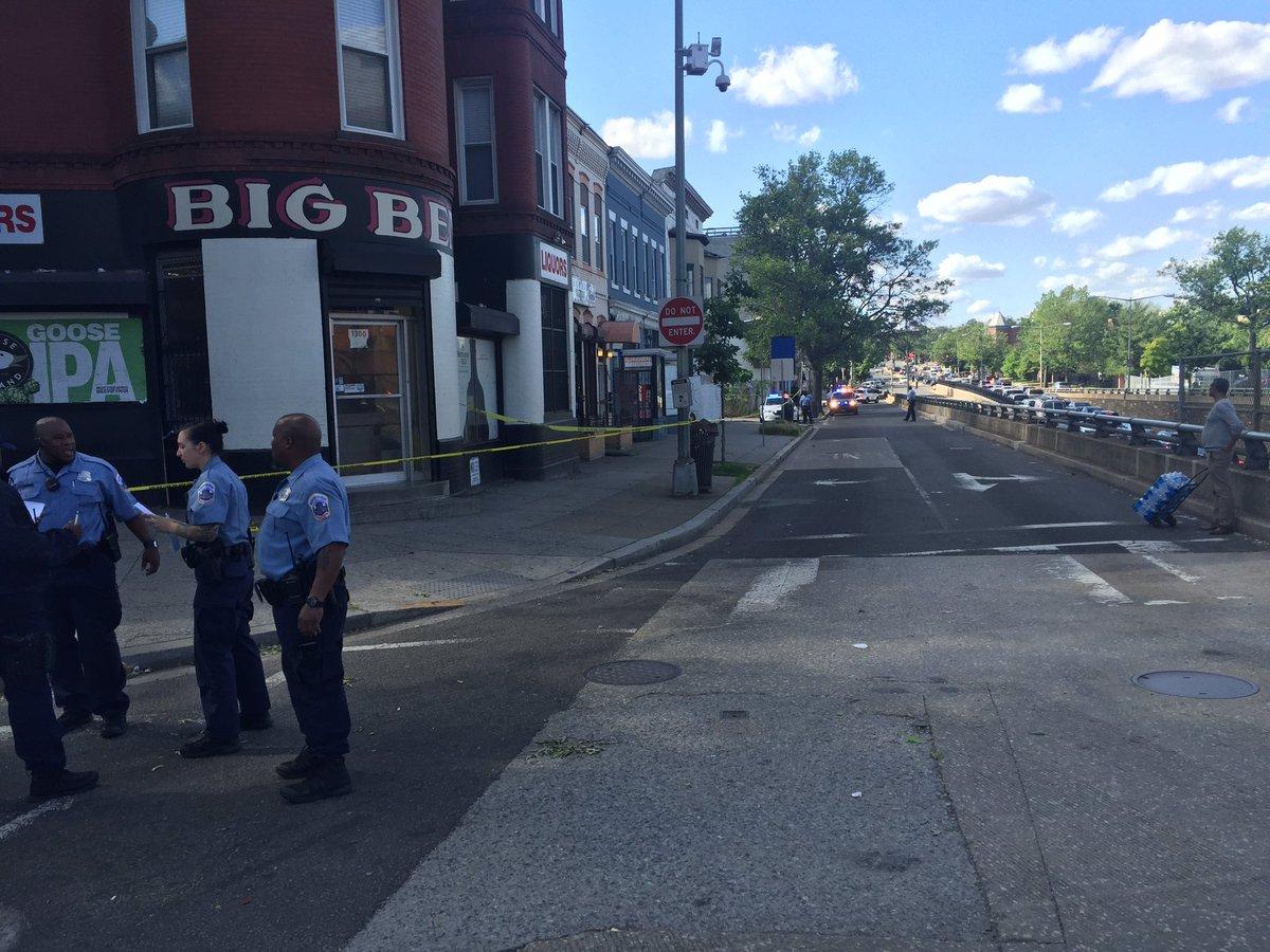 Police seek gunman in DC quadruple shooting