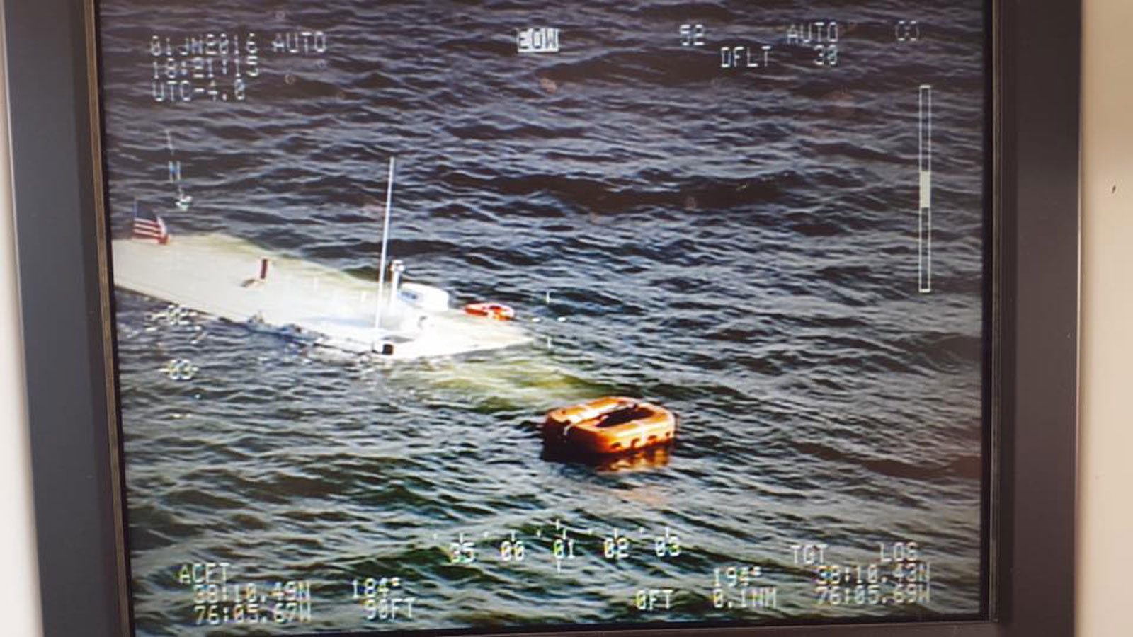 Fisherman rescues boat passengers, mostly children, from Chesapeake Bay