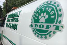 Greenbelt, Maryland's Animal Control van. (WTOP/Kate Ryan)