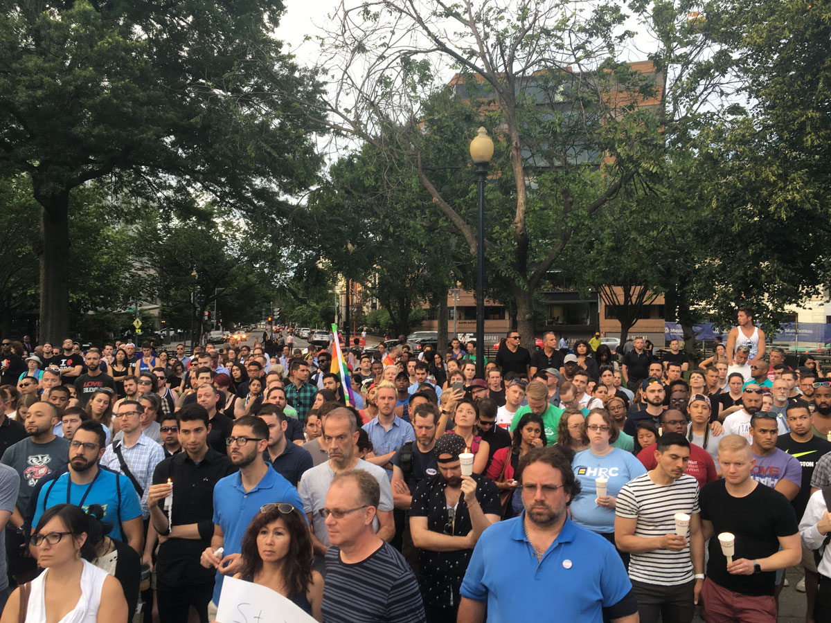 LGBT community, supporters remember Orlando shooting victims