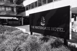 The newly-renovated Watergate Hotel has reopened, after a $125 million, six-year renovation. (WTOP/Neal Augenstein)