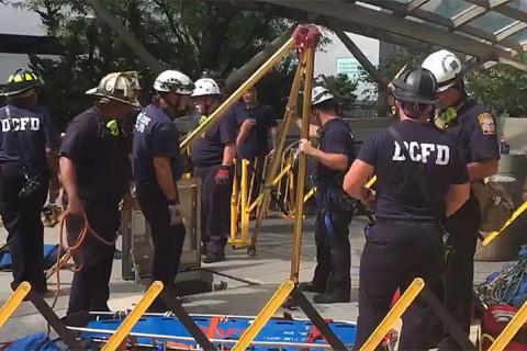 Metro worker hospitalized after medical incident under Foggy Bottom escalator