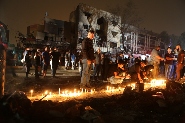 Death toll from weekend Baghdad attack reaches 175