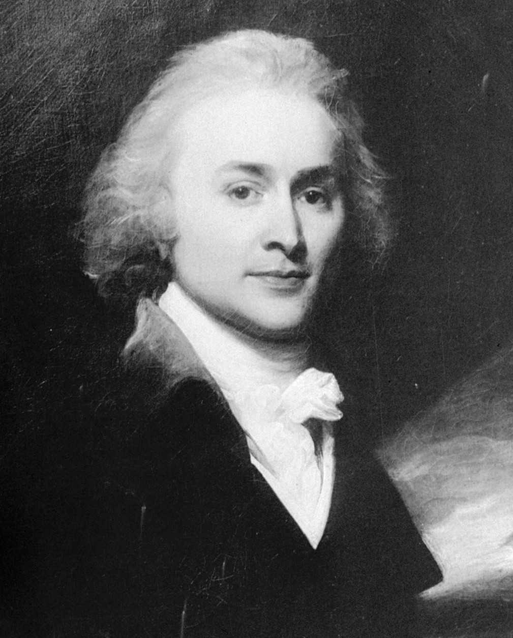 FILE- This undated file image shows a portrait painted by artist John Singleton Copley of John Quincy Adams, sixth president of the United States from 1825 to 1829. Historians noticed Adams' short diary entries are similar to modern day Twitter updates. So starting Wednesday, Aug. 5, 2009, the Massachusetts Historical Society begins posting Twitter updates from his diary entries 200 years ago.  (AP Photo)