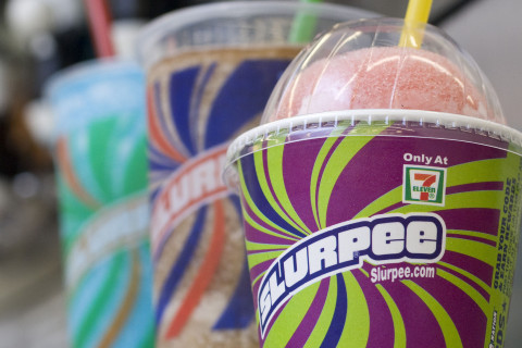 It's Free Slurpee Day at 7-Eleven