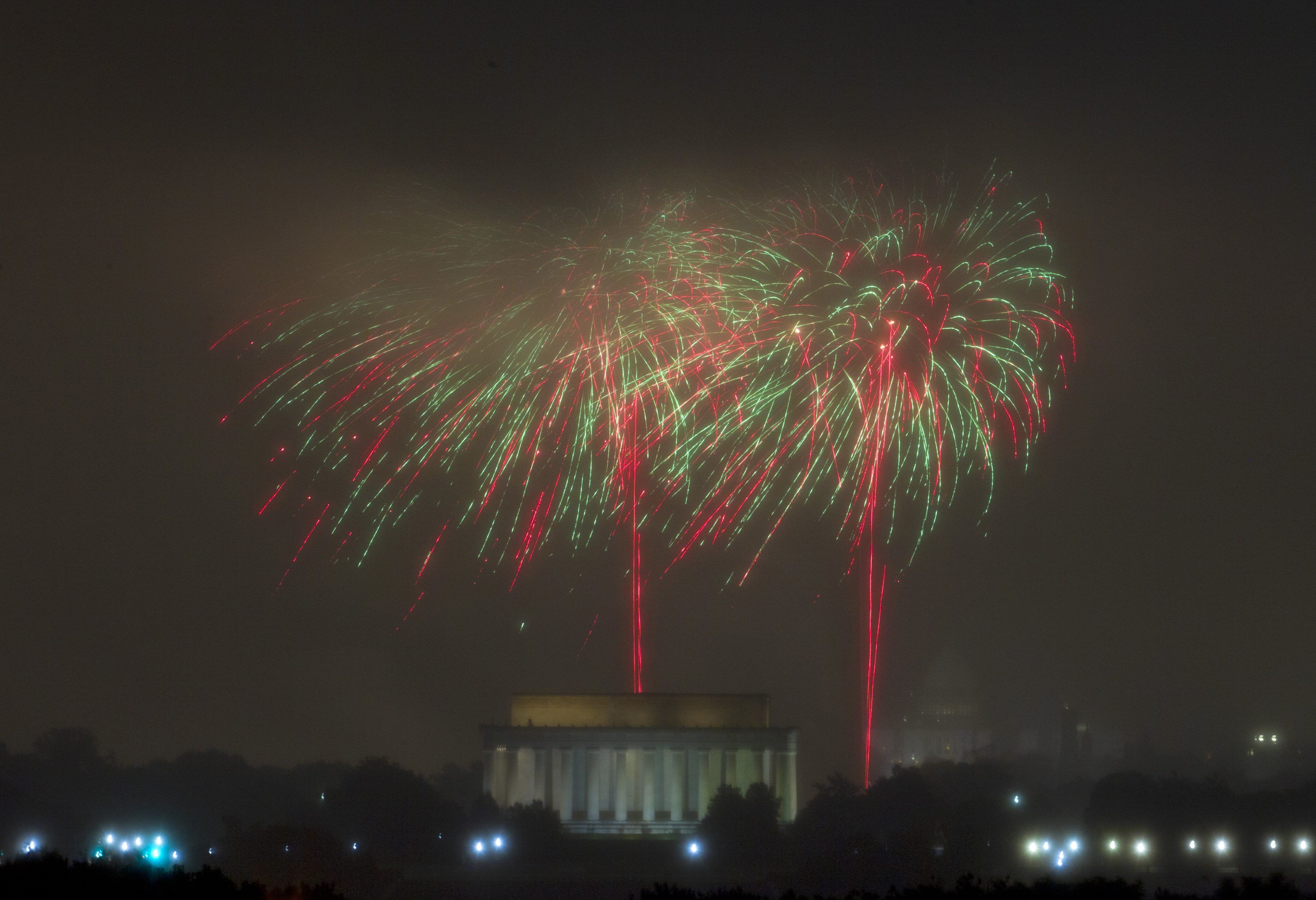 Best Places To Watch Dc Fireworks On Fourth Of July Map Wtop