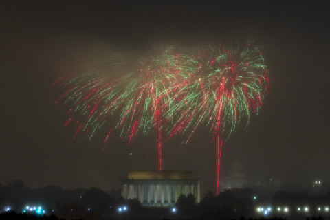 Best places to watch DC fireworks on Fourth of July (Map)
