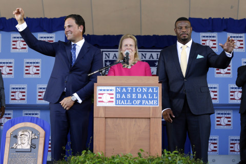 Photos: Griffey, Piazza inducted into Baseball Hall of Fame