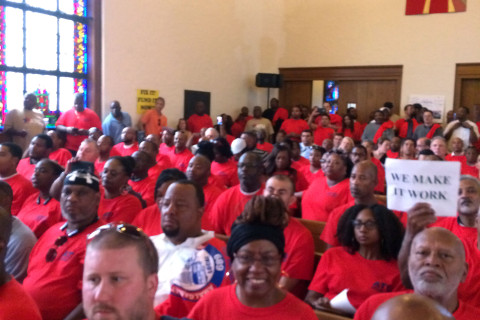 Metro workers rally for respect, demand reforms