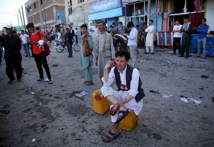 Casualties as blast rips through huge Kabul minority protest