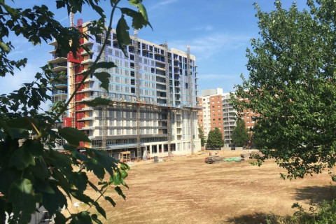 Temporary park to open near Silver Spring Metro station