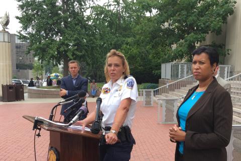 Lanier talks community relations after Dallas sniper shootings
