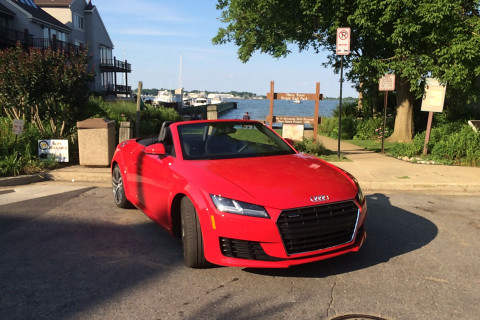 Put a spark in your commute with the 2016 Audi TT roadster