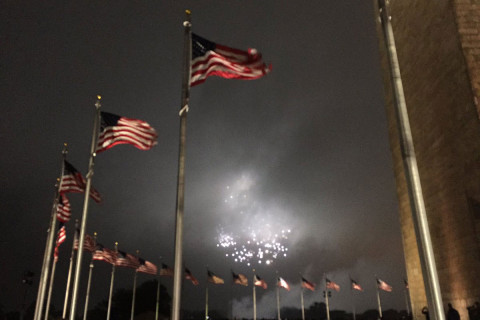 Twitter users call out PBS for using old footage of DC fireworks show
