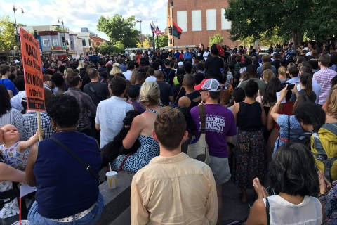 Rally, prayer vigil in DC follow police shootings