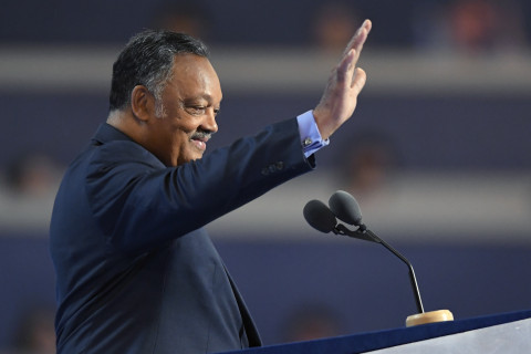 Jesse Jackson encourages voter participation in Virginia