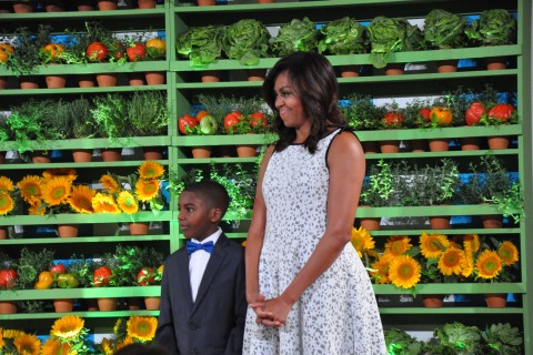 56 kids join first lady Michelle Obama for last Kids' 'State Dinner'