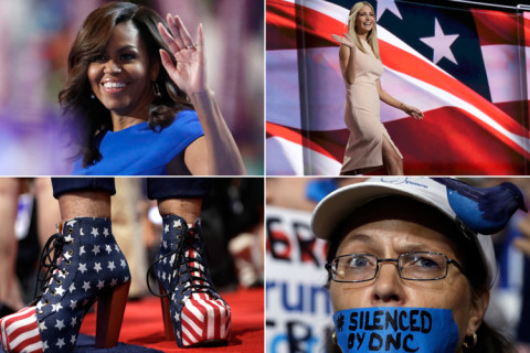Stylish statements: Fashion at the political conventions