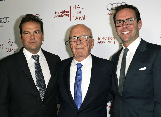 Murdoch replaces Ailes at Fox News