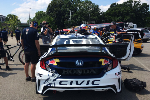A first-person look at Red Bull Global Rallycross