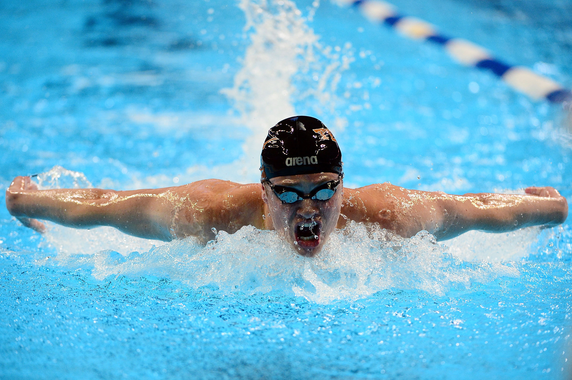 OMAHA, NE - JUNE 28:  Jack Conger competes in a semi-final heat of the Men's 200 Meter Butterfly during Day 3 of the 2016 U.S. Olympic Team Swimming Trials at CenturyLink Center on June 28, 2016 in Omaha, Nebraska.  (Photo by Jeff Curry/Getty Images)