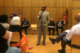 County Executive Ike Leggett asked for mutual understanding. (WTOP/Dick Uliano)