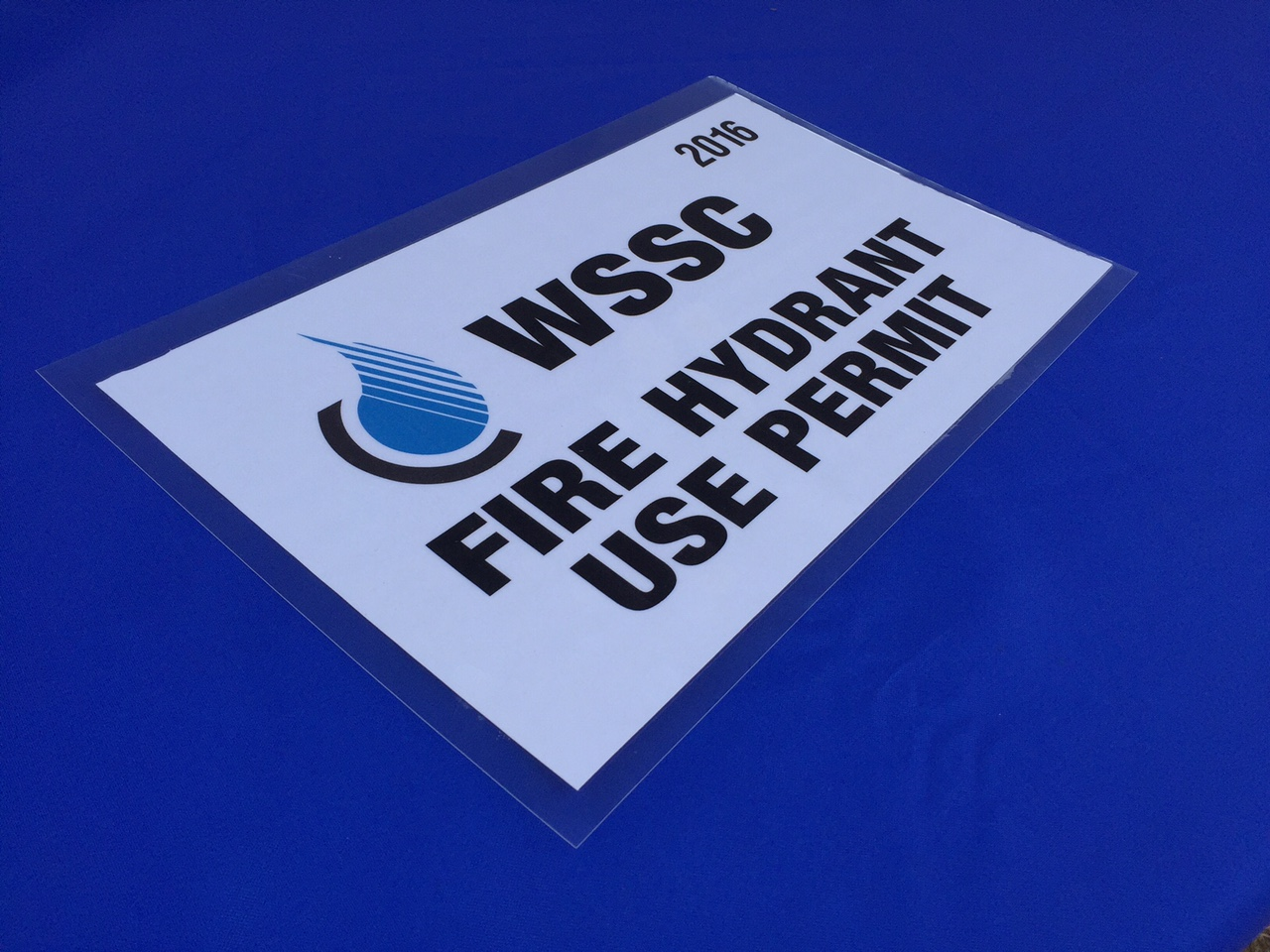 Water can be legally purchased from WSSC hydrants after leasing a meter and displaying a permit. (WTOP/Neal Augenstein)