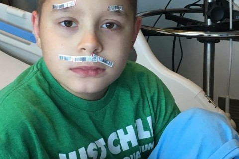Va. family seeks bone marrow donor for adopted son