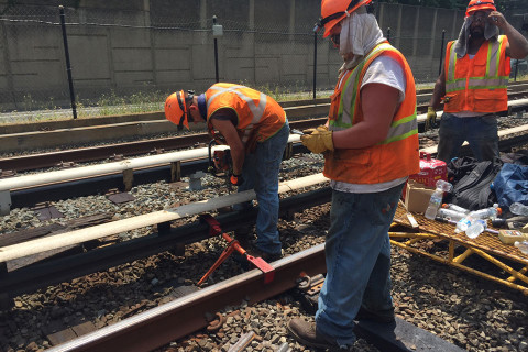A look at Metro track work behind the scenes
