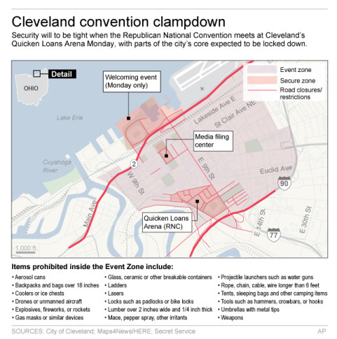Police Enlist Cleveland's Homeless For Extra Eyes During RNC