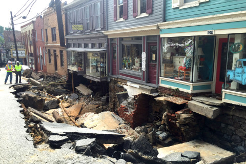 Historical preservation organization ready to help Ellicott City rebuild
