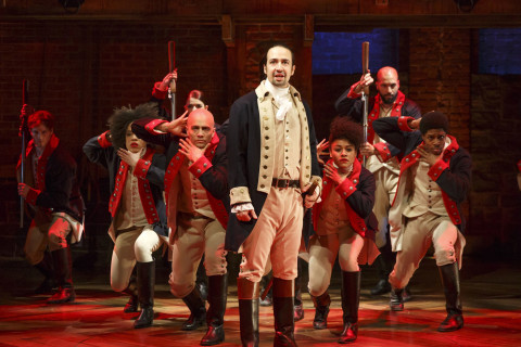 Hit musical 'Hamilton' takes on DC's Kennedy Center in 2018