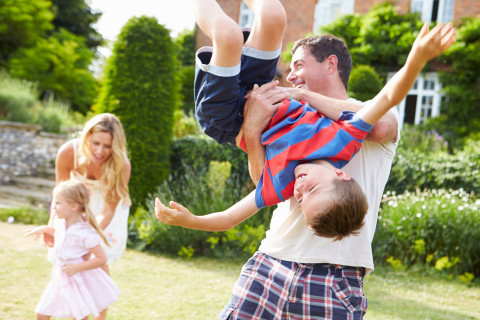 Time to play: 5 simple ideas for family fun this summer