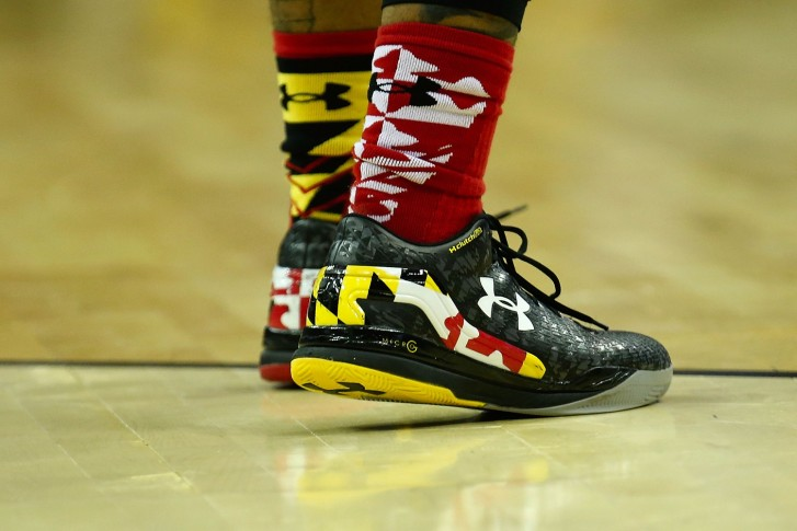 maryland under armour basketball shoes