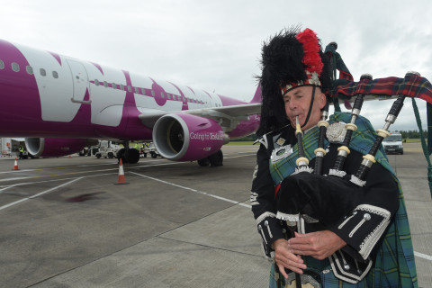 WOW Air adds flights from BWI to Scotland