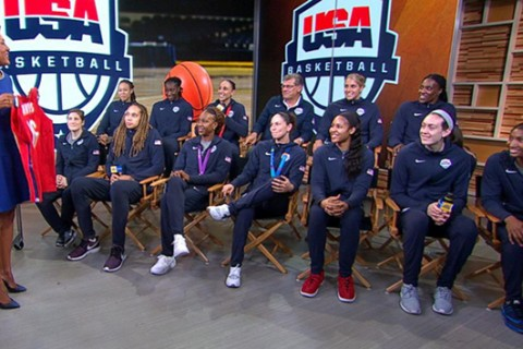 US Olympic women's basketball team going for sixth gold medal