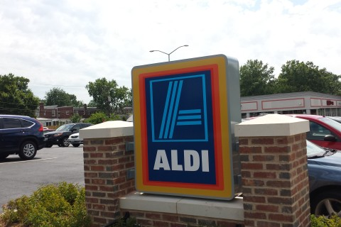 Alexandria's 3rd Aldi grocery store to open by year's end
