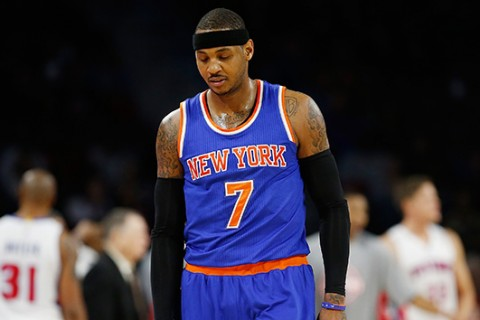 Carmelo Anthony calls on athletes to 'step up and take charge' after police shootings