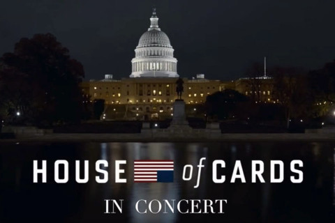 Emmy winner conducts 'House of Cards' tribute at Kennedy Center