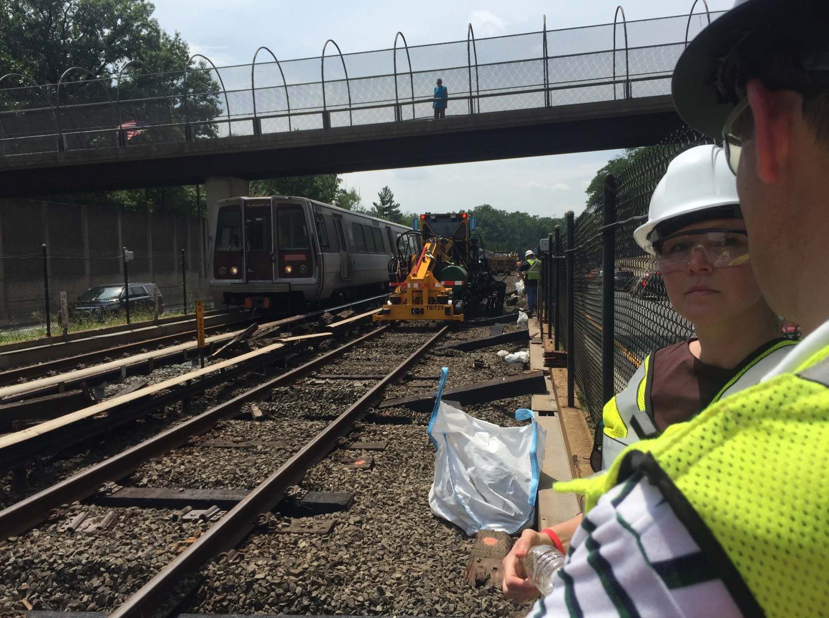Laura Mason is an electrical engineer. She is focusing on sorting out priorities and planning for each of the already announced work zones for Metrorail maintenance.(WTOP/Max Smith)
