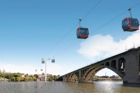 Georgetown-Rosslyn gondola deemed feasible in study