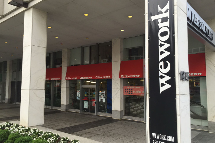 Image result for WeWork, office, awning, photos