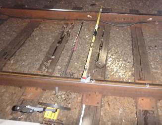 Metro trains slow near just-completed work zone