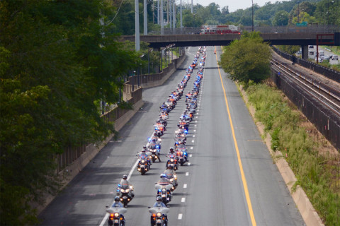 9/11 motorcycle ride to upend Friday p.m. commute