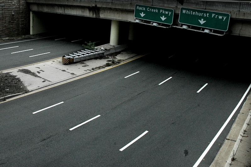 Another image of the Potomac River Freeway, which is technically the eastern end of Interstate 66. (WTOP/Dave Dildine)
